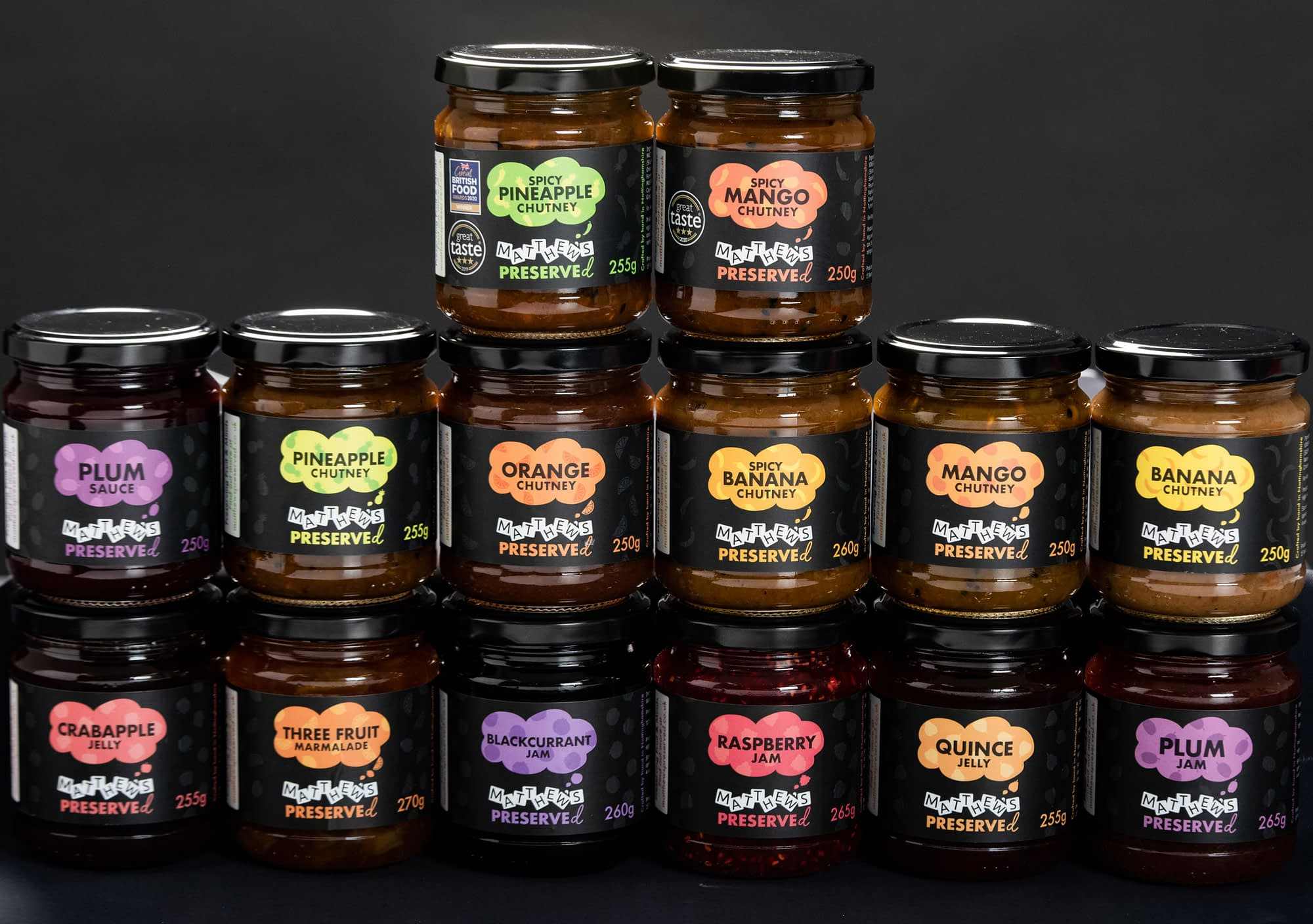 All Matthew's Preserved Products